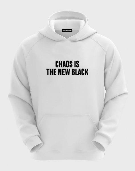 ХУДИ CHAOS IS THE NEW BLACK