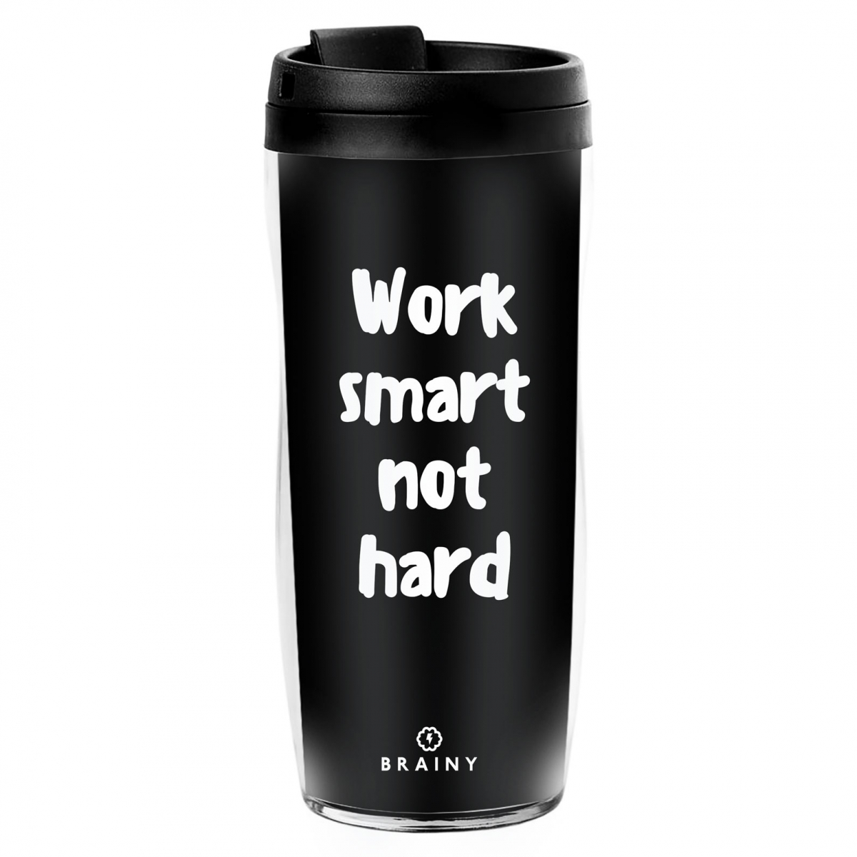 СТАКАН Work smart Not hard
