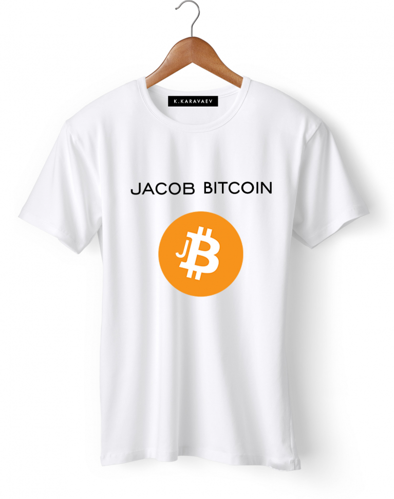 ФУТБОЛКА JACOB BITCOIN