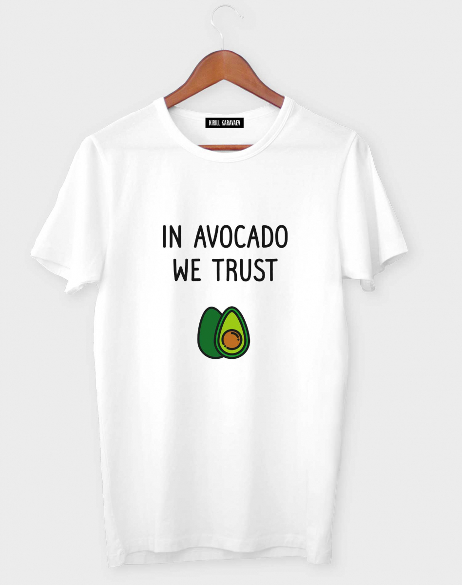 ФУТБОЛКА IN AVOCADO WE TRUST