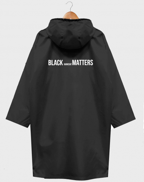 ДОЖДЕВИК BLACK RAINCOAT MATTERS