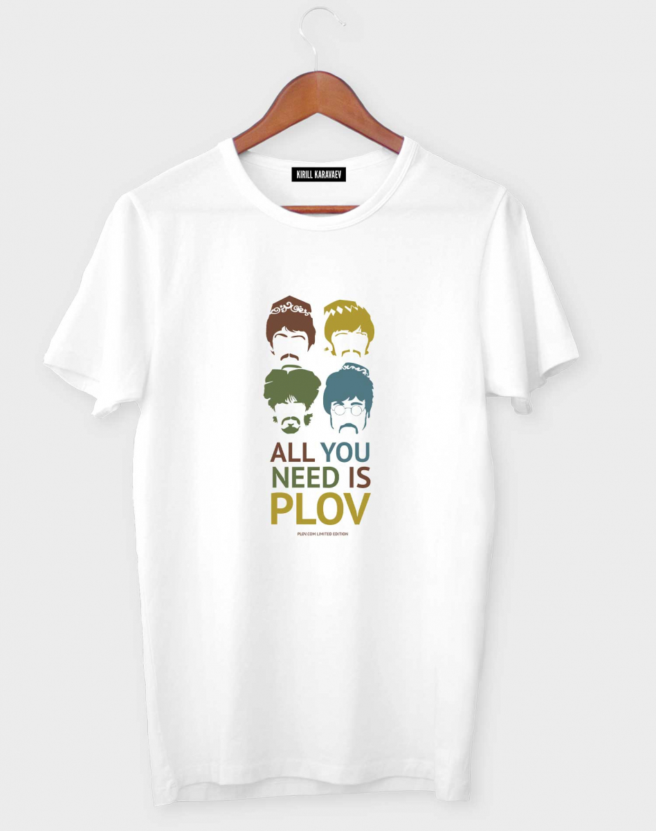 ФУТБОЛКА ALL YOU NEED IS PLOV