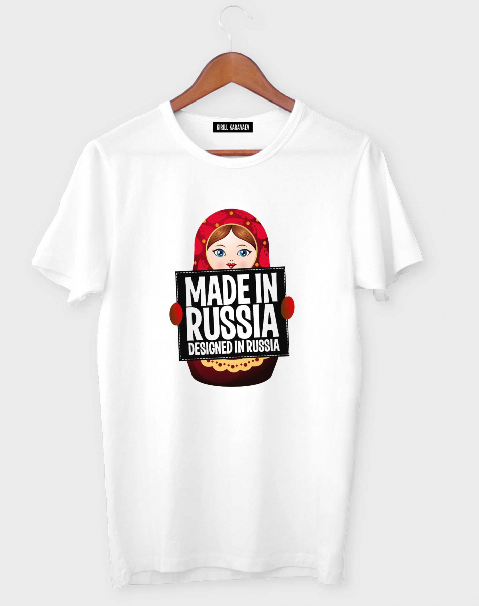 Футболка MADE IN RUSSIA NEW
