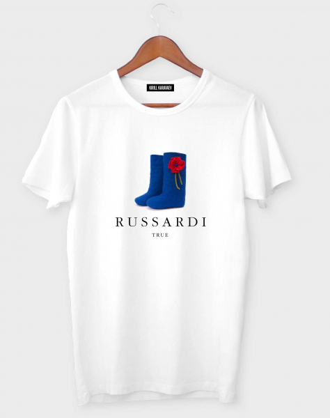 ФУТБОЛКА RUSSARDI TRUE BLUE