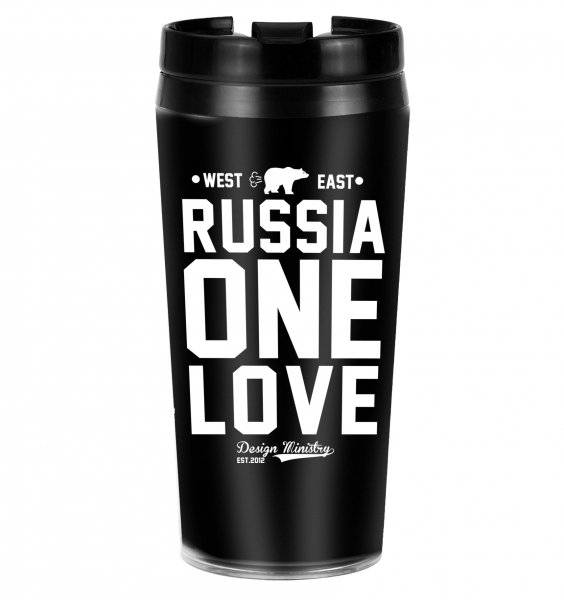 ТЕРМОСТАКАН RUSSIA ONE LOVE