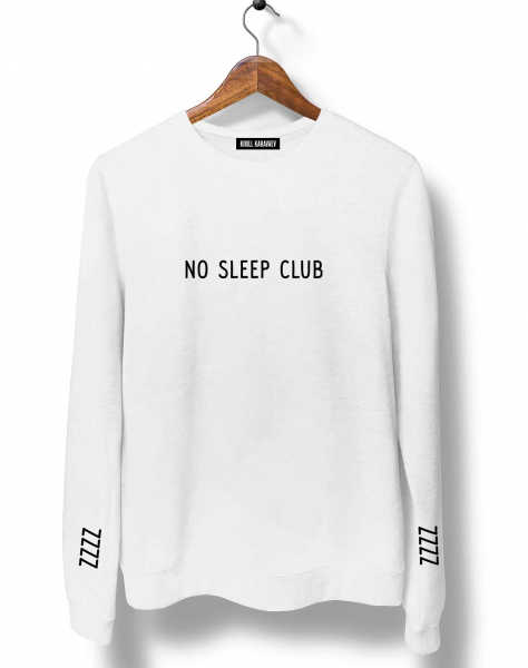 СВИТШОТ NO SLEEP CLUB