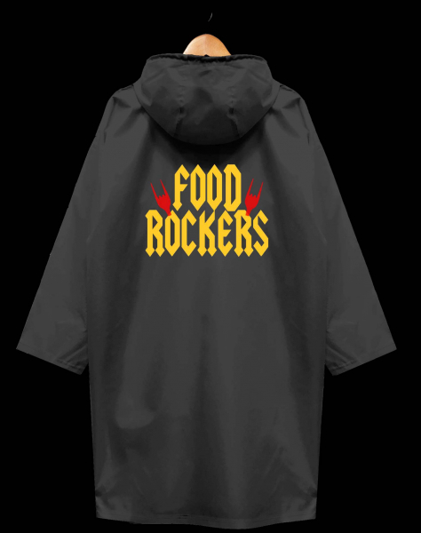 ДОЖДЕВИК FOOD ROCKERS  x VLADIMIR MUKHIN