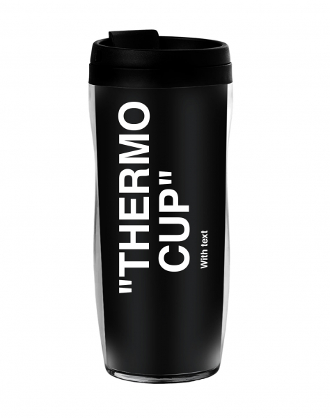 ТЕРМОСТАКАН TERMO CUP WITH TEXT