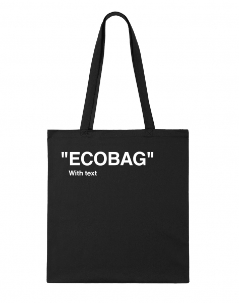 СУМКА ECOBAG WITH TEXT