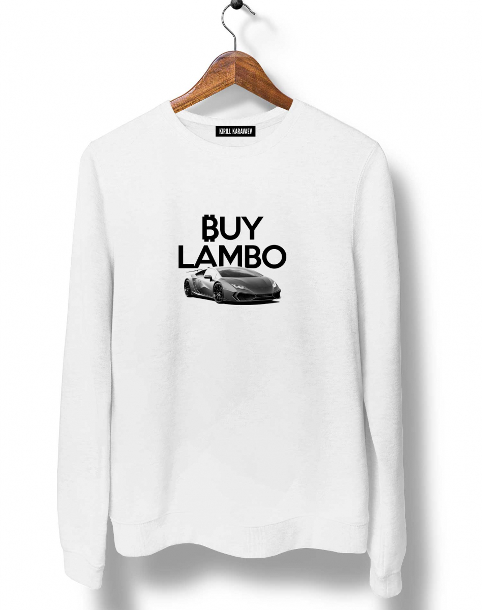 СВИТШОТ BUY LAMBO (feat. Kondrashov)